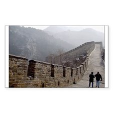 Great Wall China Rectangle Decal