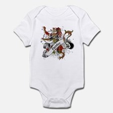 Hunter Tartan Lion Infant Bodysuit