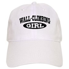 Wall Climbing Girl Baseball Cap