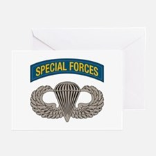 Airborne Special Forces Greeting Cards (Pk of 10)