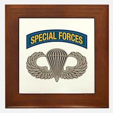 Airborne Special Forces Framed Tile