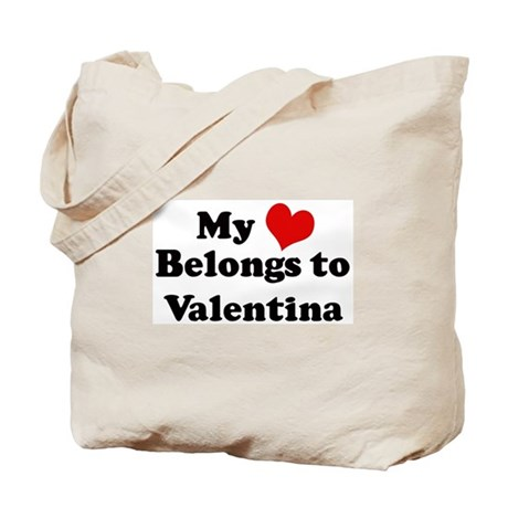 My Heart: Valentina Tote Bag