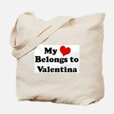 My Heart: Valentina Tote Bag