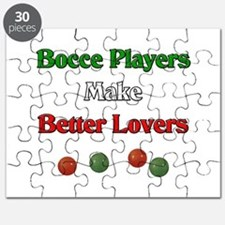 Bocce players make better lovers. Puzzle