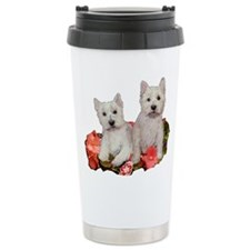 Westies In The Garden Travel Mug