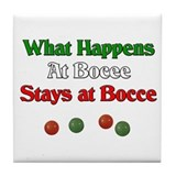 Bocce Drink Coasters