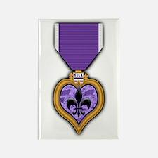 NOLA 'Purple Heart' medal Rectangle Magnet