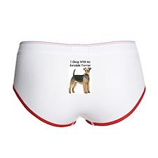 Airedale Terrier Women's Boy Brief