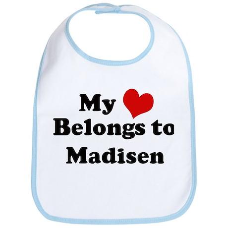 My Heart: Madisen Bib