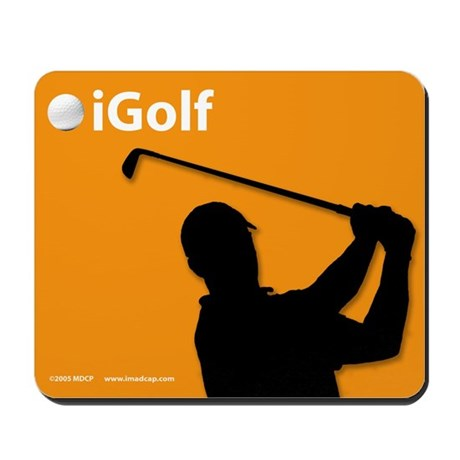 Official Orange iGolf Mousepad