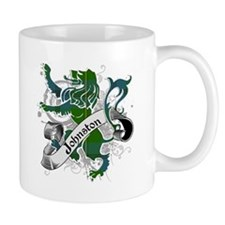 Johnston Tartan Lion Mug