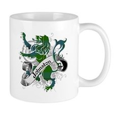 Johnston Tartan Lion Small Mug