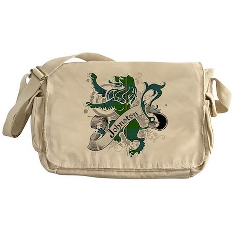 Johnston Tartan Lion Messenger Bag