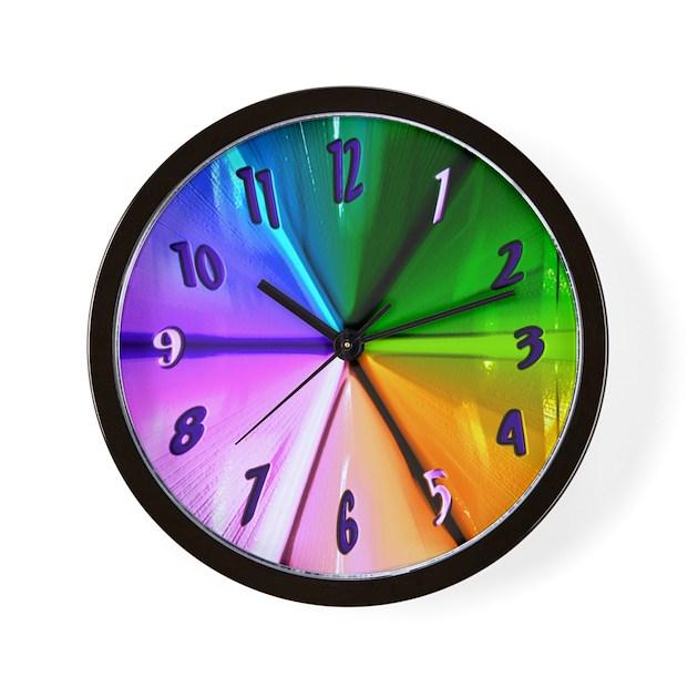 Gotta Be Different Cool Clocks Wall Clock By Cosmeticplastic