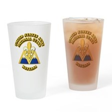 Army National Guard - Montana Drinking Glass