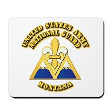 Army National Guard - Montana Mousepad