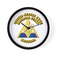 Army National Guard - Montana Wall Clock