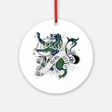 Keith Tartan Lion Ornament (Round)