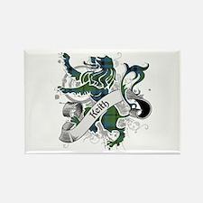 Keith Tartan Lion Rectangle Magnet