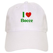 I Love Bocce Cap