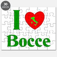 I Love Bocce Puzzle