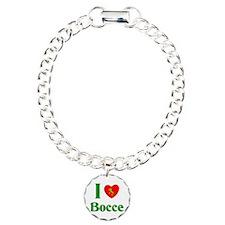 I Love Bocce Bracelet