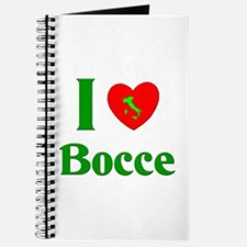 I Love Bocce Journal