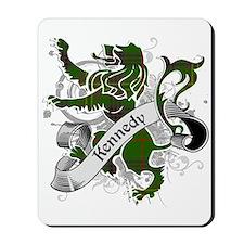 Kennedy Tartan Lion Mousepad