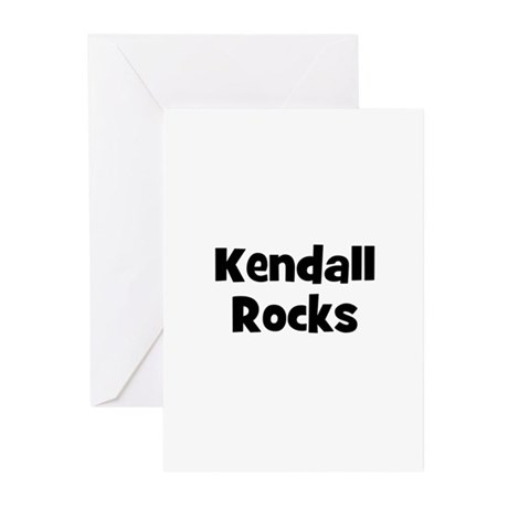 Kendall Rocks Greeting Cards (Pk of 10)