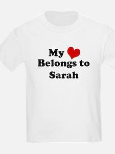 My Heart: Sarah Kids T-Shirt