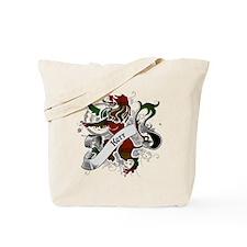 Kerr Tartan Lion Tote Bag