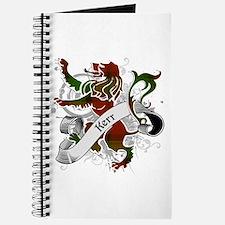 Kerr Tartan Lion Journal