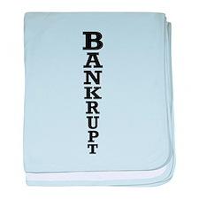 Bankrupt baby blanket