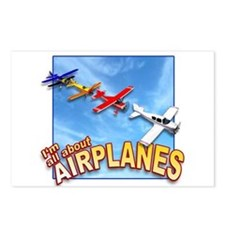 I'm All About Airplanes! Postcards (Package of 8)