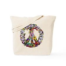 Peace Love Pilates by Svelte.biz Tote Bag