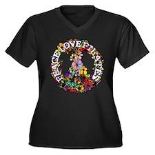 Peace Love Pilates by Svelte.biz Women's Plus Size