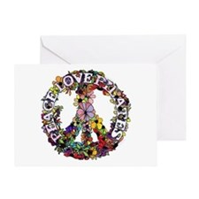 Peace Love Pilates by Svelte.biz Greeting Card
