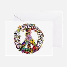 Peace Love Pilates by Svelte.biz Greeting Cards (P