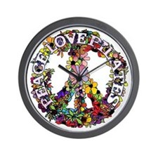 Peace Love Pilates by Svelte.biz Wall Clock