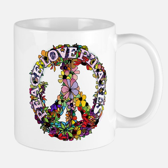 Peace Love Pilates by Svelte.biz Mug