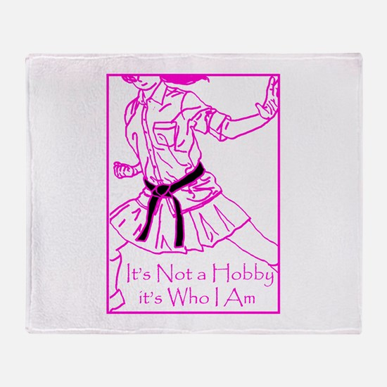 Its who I am Throw Blanket