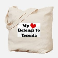 My Heart: Yesenia Tote Bag