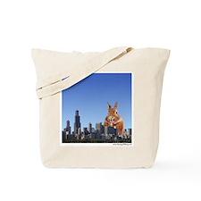 Killer Rabbit Tote Bag