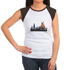Killer Rabbit Women's Cap Sleeve T-Shirt