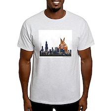 Killer Rabbit Ash Grey T-Shirt
