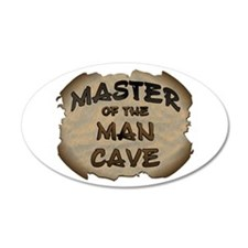 Master Of The Man Cave Wall Decal