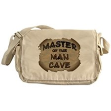 Master Of The Man Cave Messenger Bag