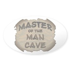 Master Of The Man Cave Decal