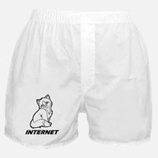 The Internet is for Cats Boxer Shorts