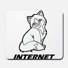 The Internet is for Cats Mousepad